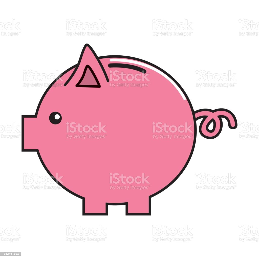 nice pig to save coin currency royalty-free nice pig to save coin currency stock vector art & more images of antiquities