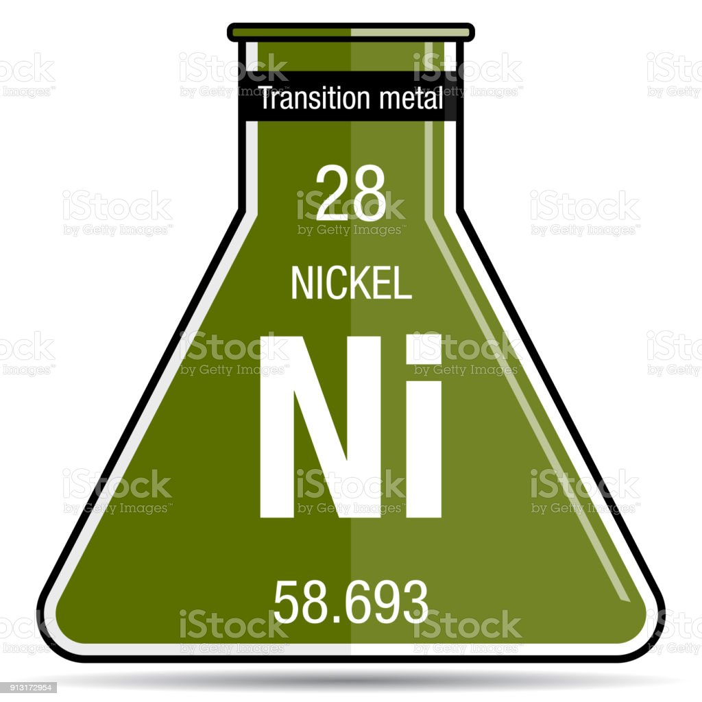 Nickel symbol on chemical flask element number 28 of the periodic nickel symbol on chemical flask element number 28 of the periodic table of the elements urtaz Choice Image