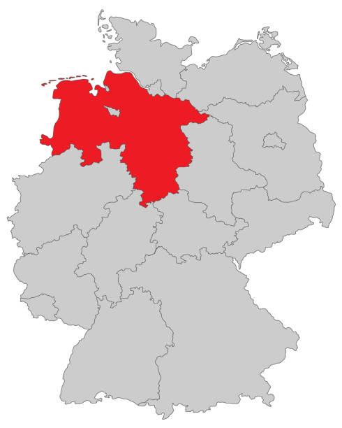Niedersachsen – Vektorgrafik