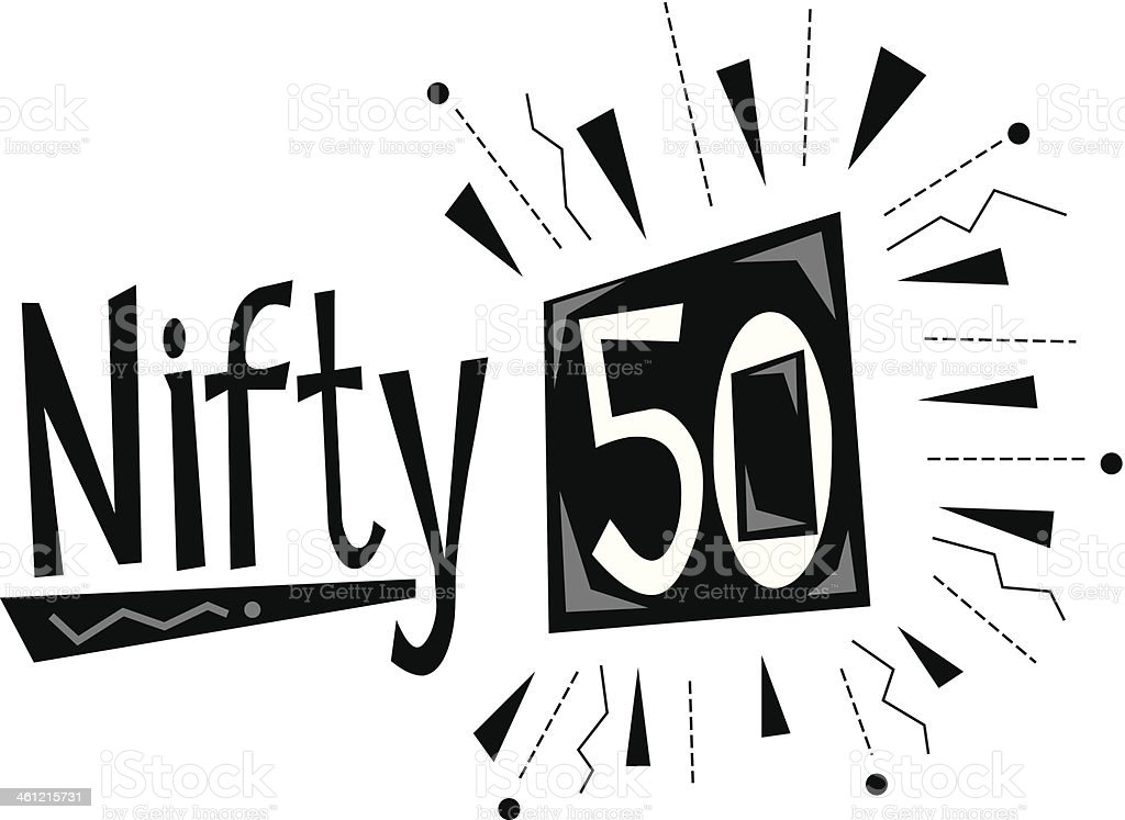 royalty free 50th birthday clip art vector images illustrations rh istockphoto com 50th birthday clip art free 50th birthday clipart