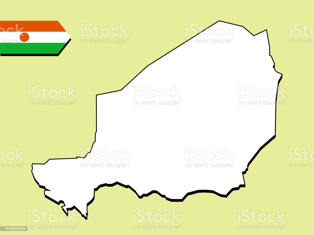 Niger Map Stock Illustration - Download Image Now - iStock