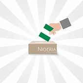 Nigeria Elections Vote Box Vector Work