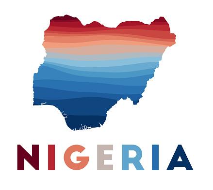 Nigeria map.