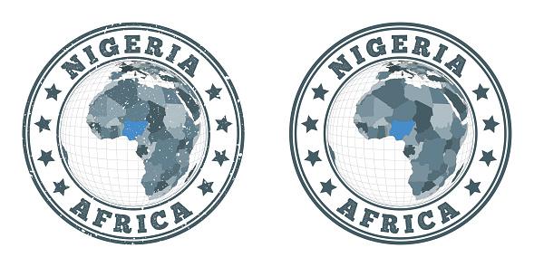 Nigeria round logos.