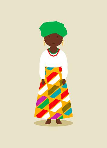 Nigerian national costume for women