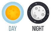 night and day - sun and moon Icon