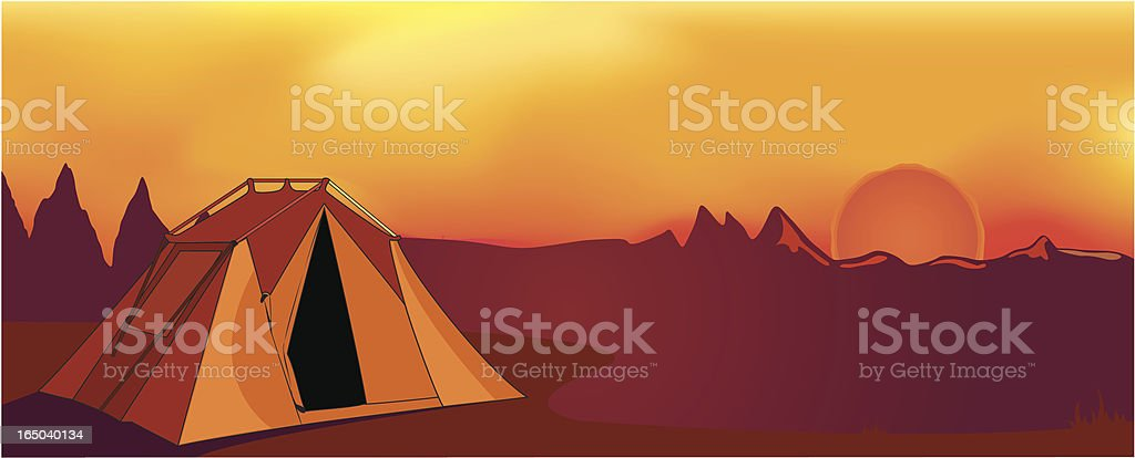Night and Day - Vector royalty-free stock vector art