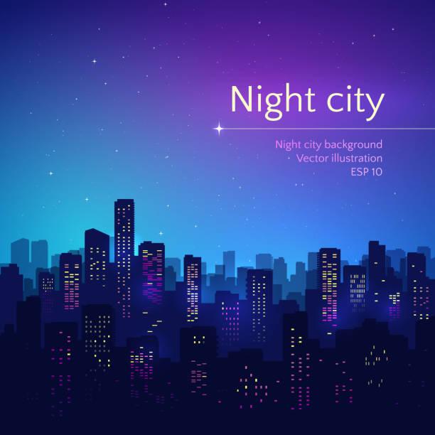 숙박 시. - 밤생활 stock illustrations