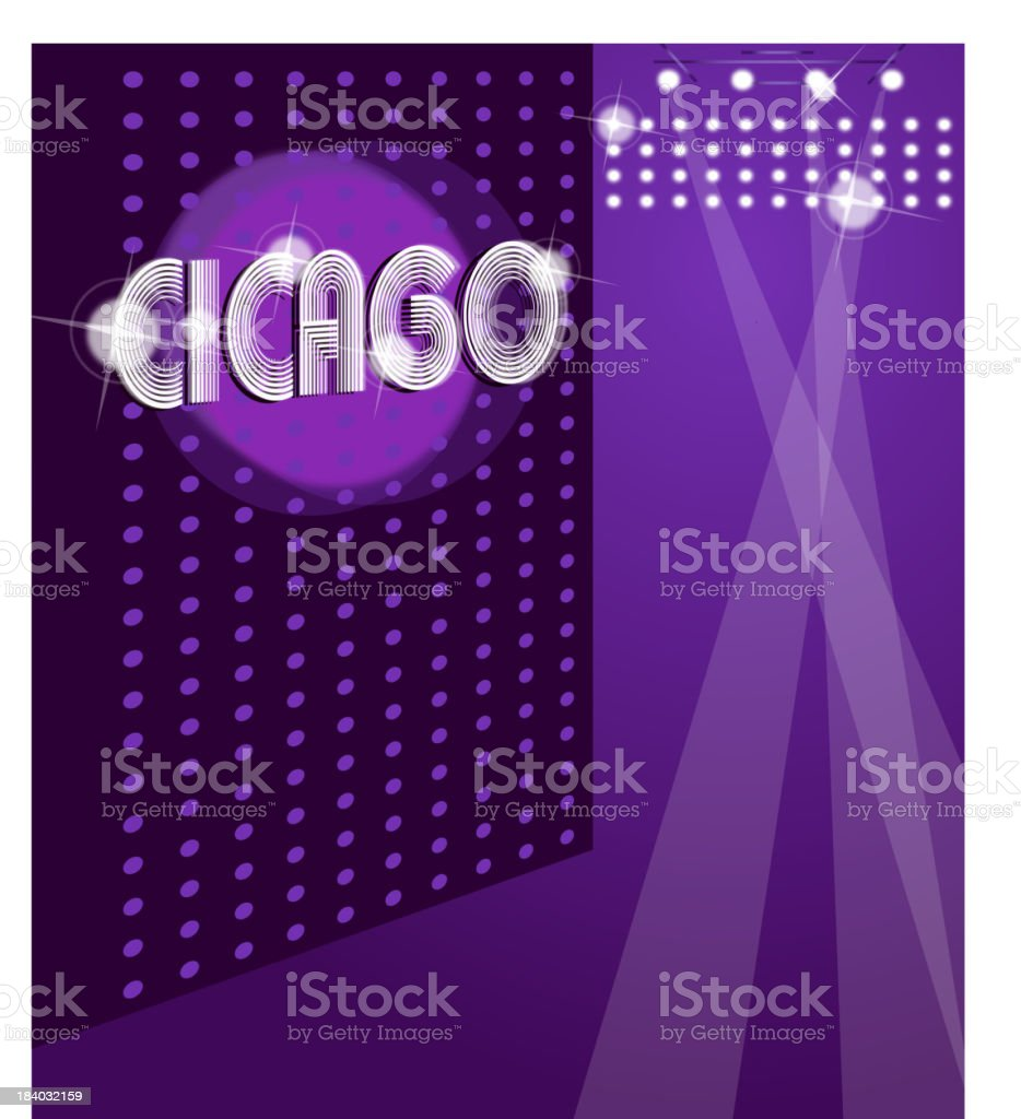 Night club background royalty-free stock vector art