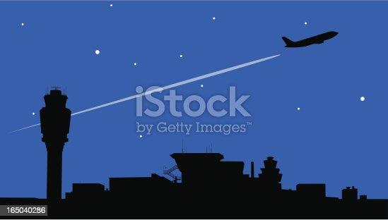 istock Night Flight 165040286