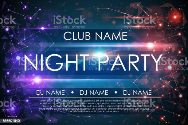 Night party poster vector id866601940?b=1&k=6&m=866601940&s=612x612&h=hbbcwj1uzkzbepoaufczkpvuibgutdser7hk5ywsyas=