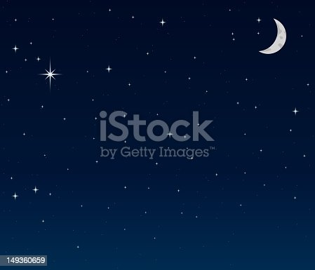 istock Night Sky background 149360659