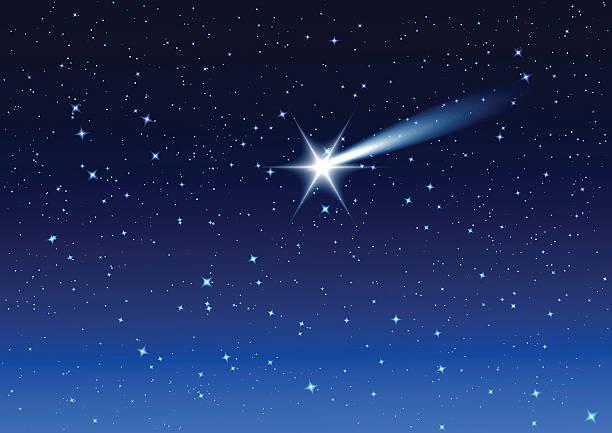 illustrations, cliparts, dessins animés et icônes de nuit ciel. sauts étoiles dans le ciel nocturne vous le souhaitez - ciel etoile