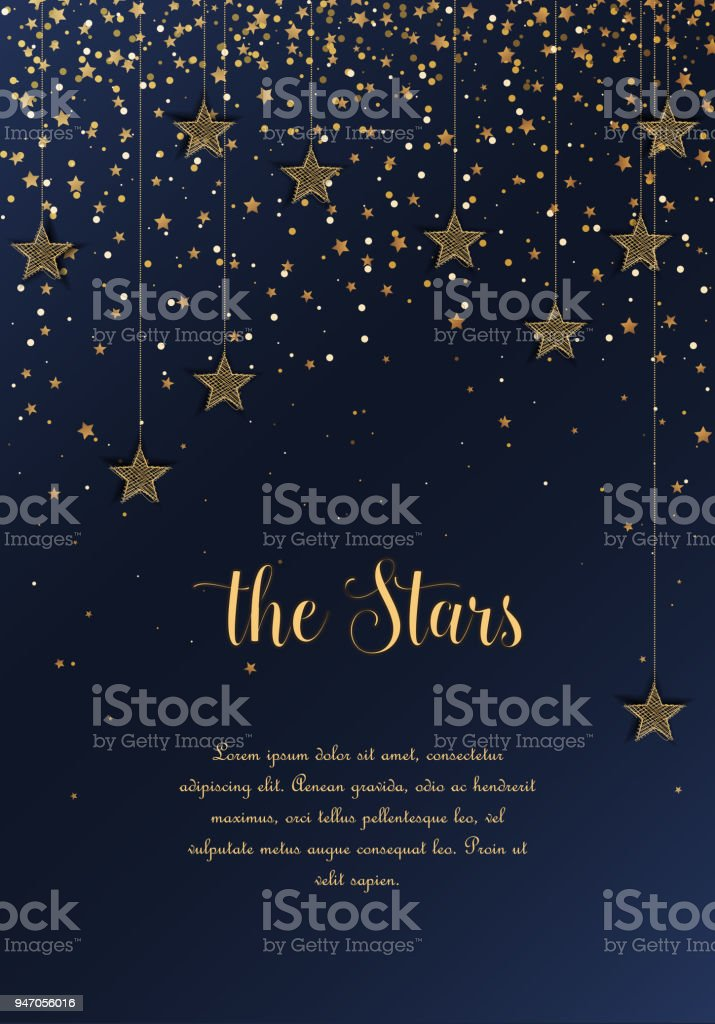 Night sky with stars royalty-free night sky with stars stock illustration - download image now