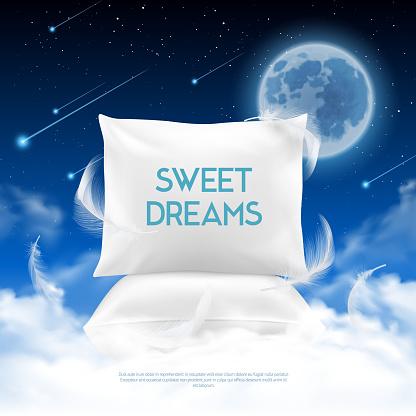 night sleeping illustration