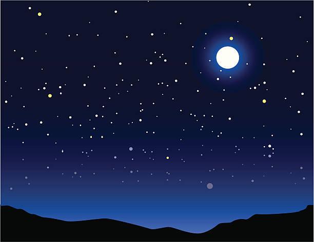 night time - dusk stock illustrations