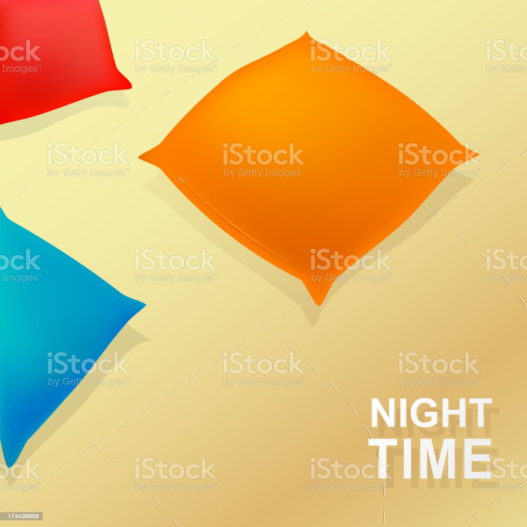 Night time royalty-free stock vector art
