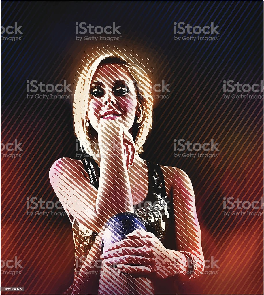 Nightlife Woman royalty-free nightlife woman stock vector art & more images of adult