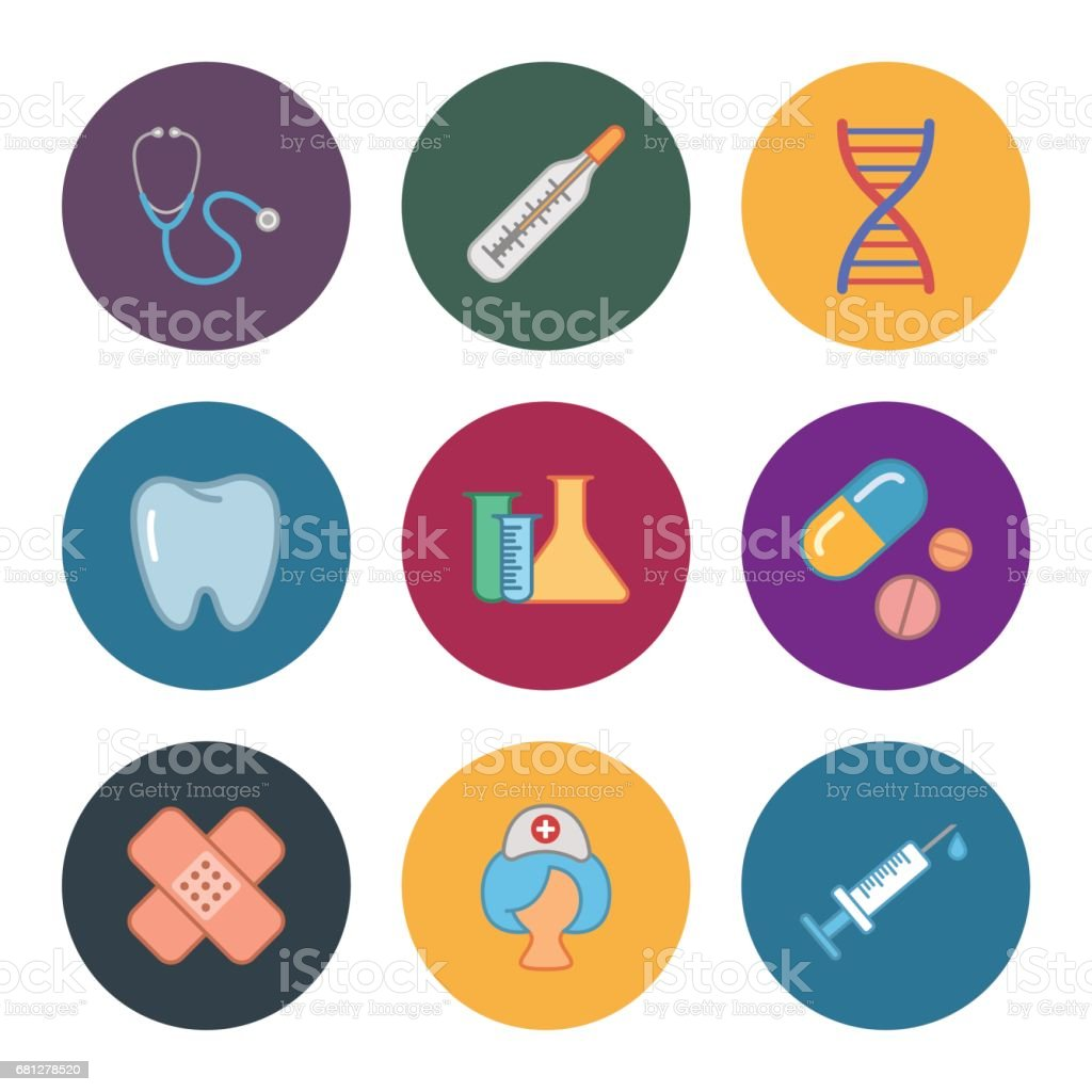 nine flat medicine icons royalty-free nine flat medicine icons stock vector art & more images of antibiotic