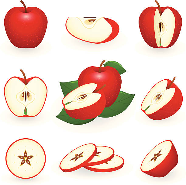 Apple Charlotte Fruit Golden Delicious Red Delicious, apple, natural Foods,  game png | PNGEgg