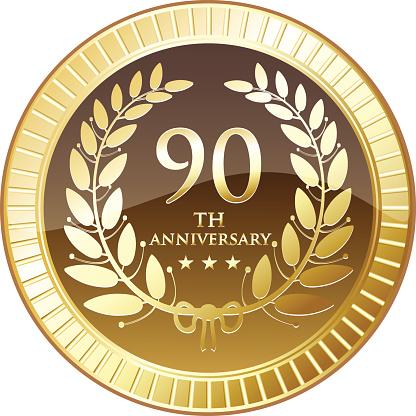 Ninetieth Anniversary Shield