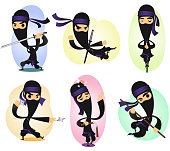 Ninja action set