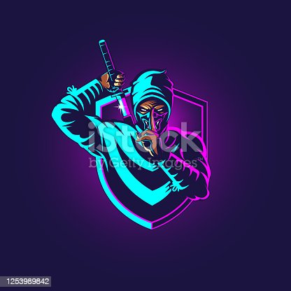 istock Ninja eSport 1253989842