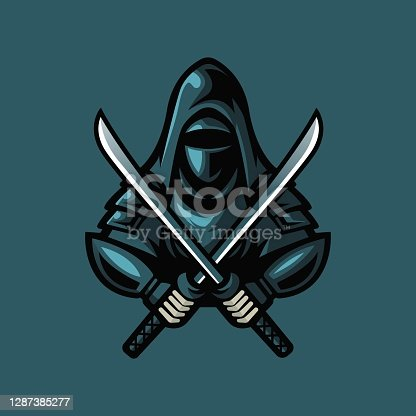 istock ninja logo 1287385277