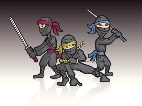 Ninja Sword Trio