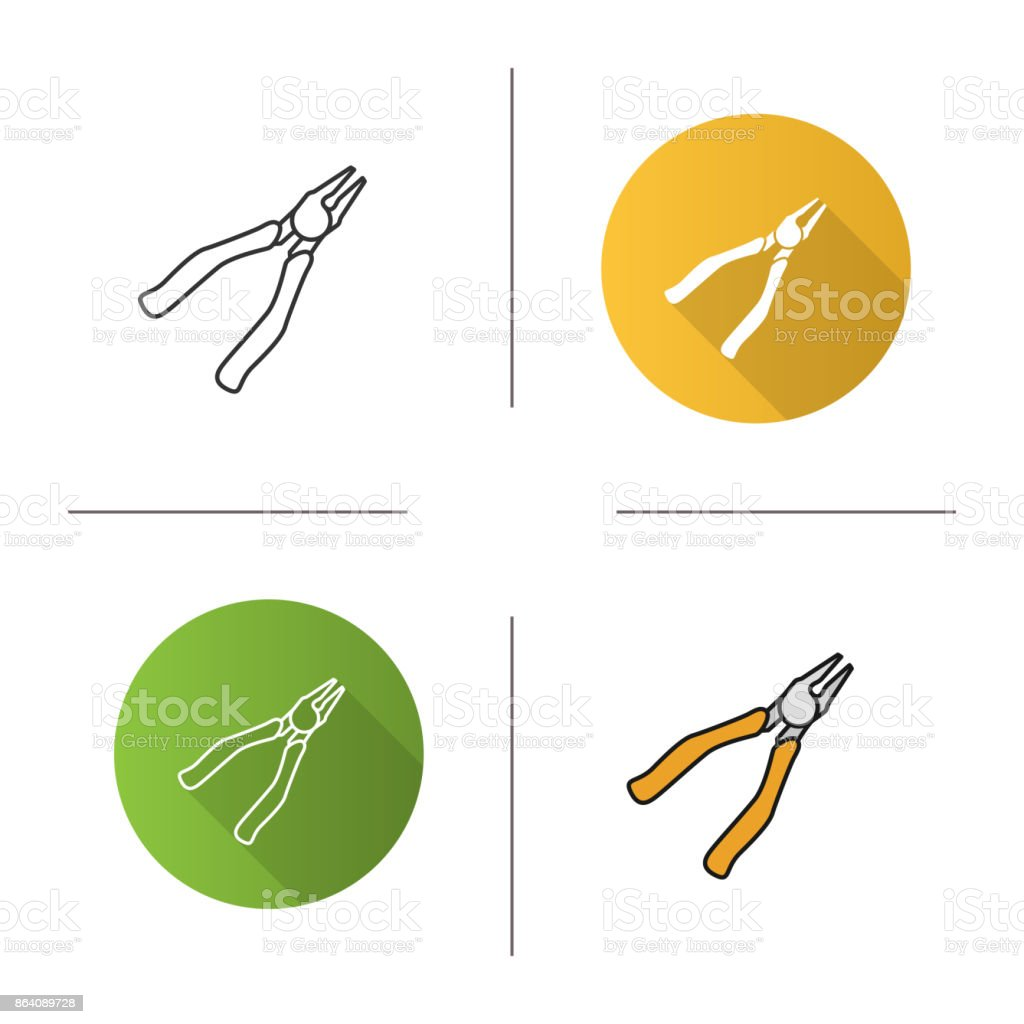 Nippers icon royalty-free nippers icon stock vector art & more images of business finance and industry