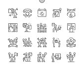 Nisan( National Sovereignty and Children's Day) Well-crafted Pixel Perfect Vector Thin Line Icons 30 2x Grid for Web Graphics and Apps. Simple Minimal Pictogram