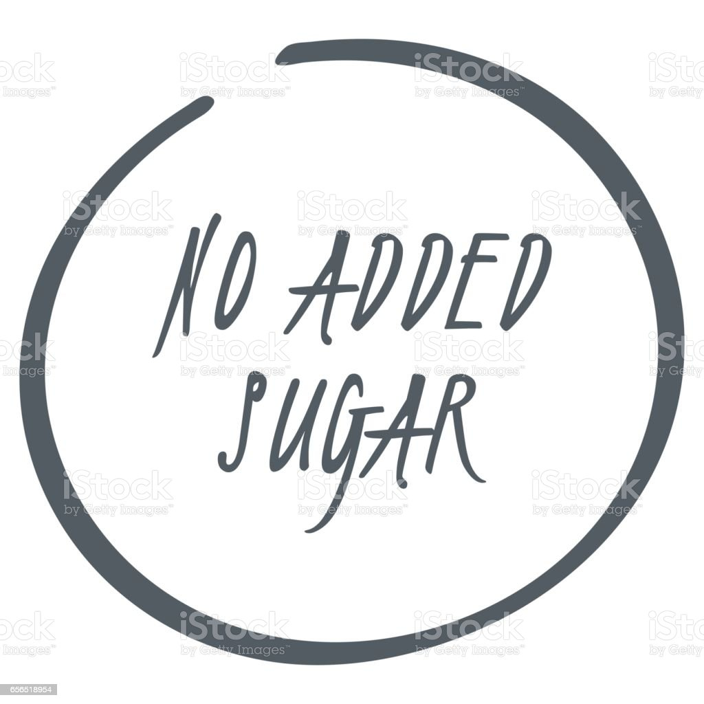 No added sugar label food icon vector diabetic sign isolated food icon vector diabetic sign isolated illustration symbol for biocorpaavc Gallery