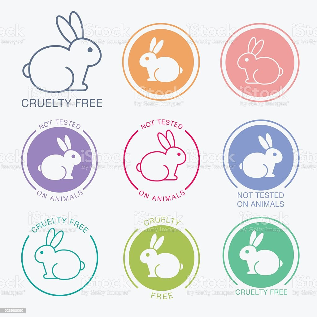 No animals testing icon design vector art illustration