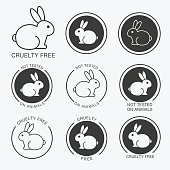 No animals testing icon design