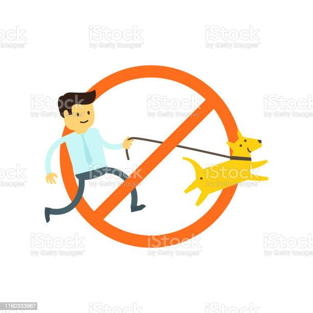 No dogs allowed dog walking is prohibited sign of the ban in the park vector id1160333967?b=1&k=6&m=1160333967&s=612x612&h=oyb6uezqk7ikjjxgiyf04tdnmifakqjcqvtfbmtb9qq=