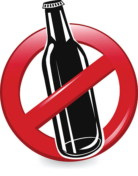 no 술마시기 - prohibition stock illustrations