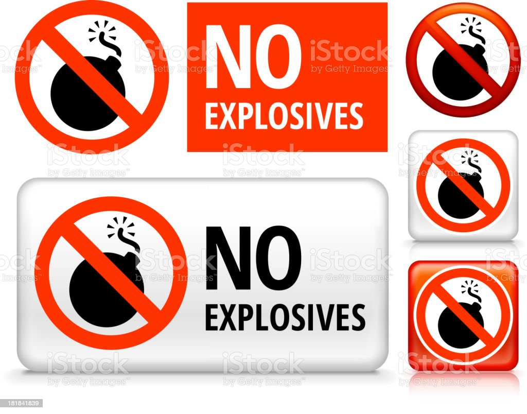 No Explosives royalty free vector art Buttons royalty-free no explosives royalty free vector art buttons stock vector art & more images of air pollution