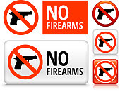 No Firearms on Signs, Buttons, and Banners