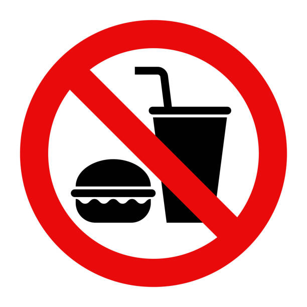 Royalty Free Stop Eating Clip Art, Vector Images ...