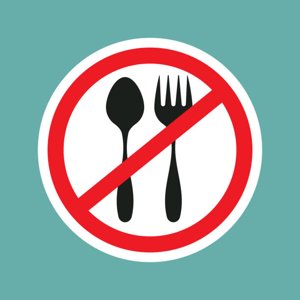 Best No Food Or Drink Sign Illustrations, Royalty-Free ...