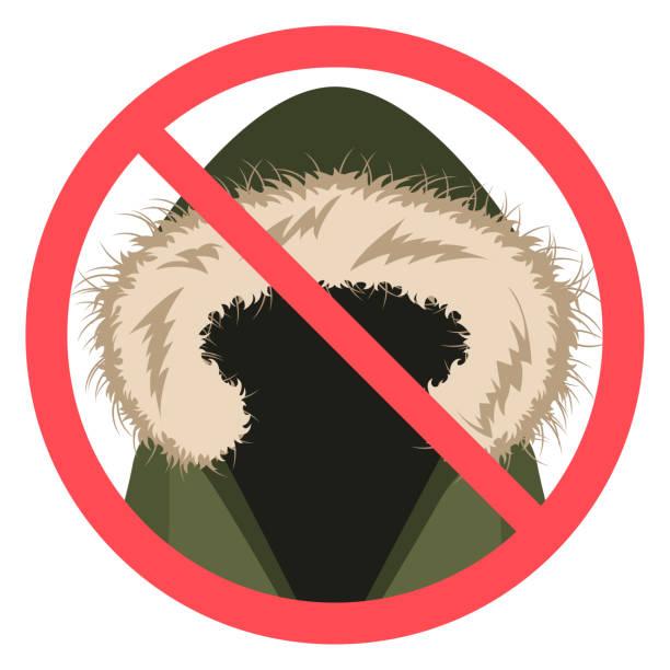 kein fell flaches design - parkas stock-grafiken, -clipart, -cartoons und -symbole