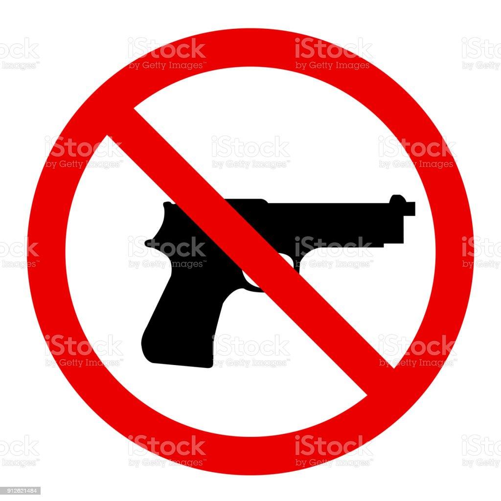 Qualquer arma - ilustração de arte em vetor