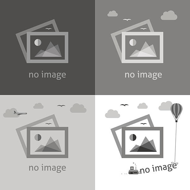 no image signs for web page. - image stock illustrations