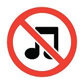 No music icon great for any use. Vector EPS10.