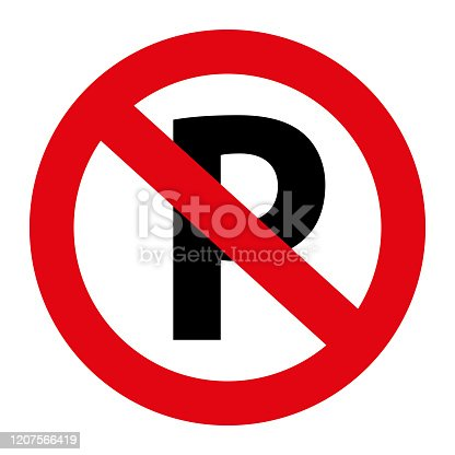 No Parking Sign Board Vector Free Vector Download It Now
