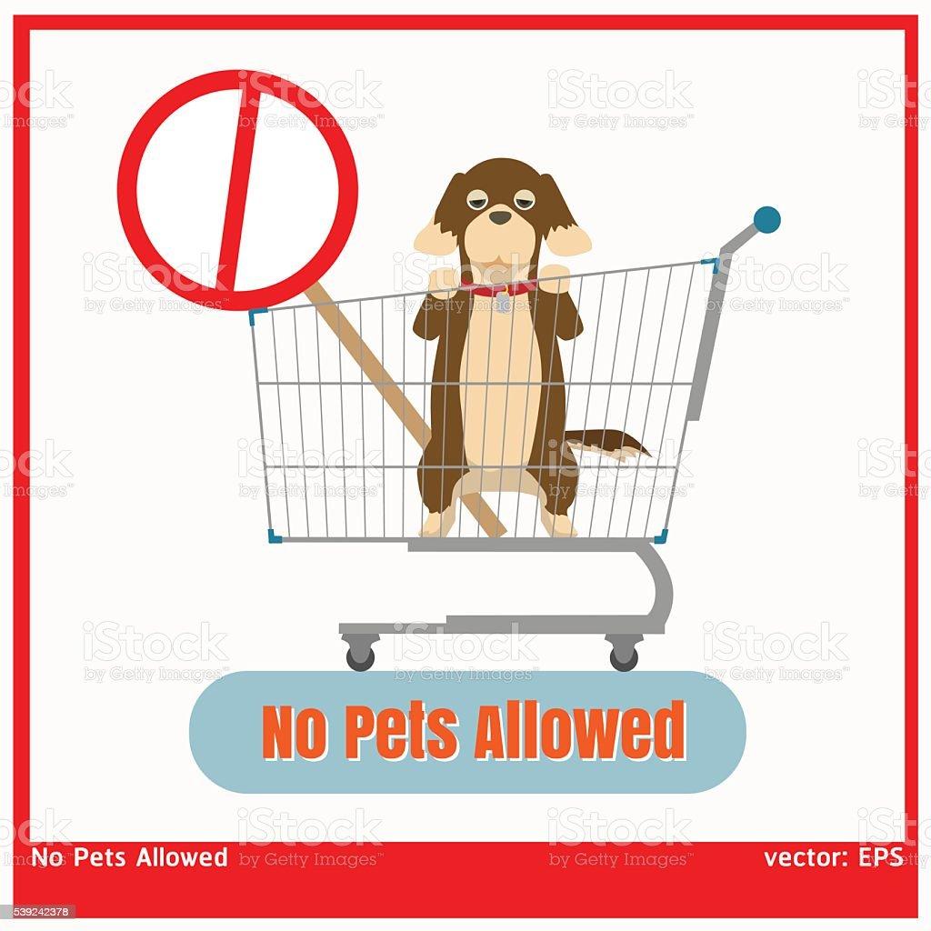 No se permiten mascotas ilustración de no se permiten mascotas y más vectores libres de derechos de calor libre de derechos