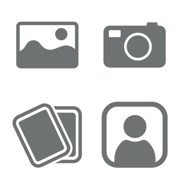 stockillustraties, clipart, cartoons en iconen met geen foto set - image