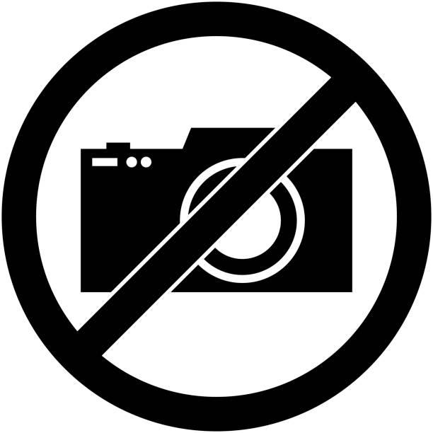 Interdiction De Photographier Vecteurs Et Illustrations