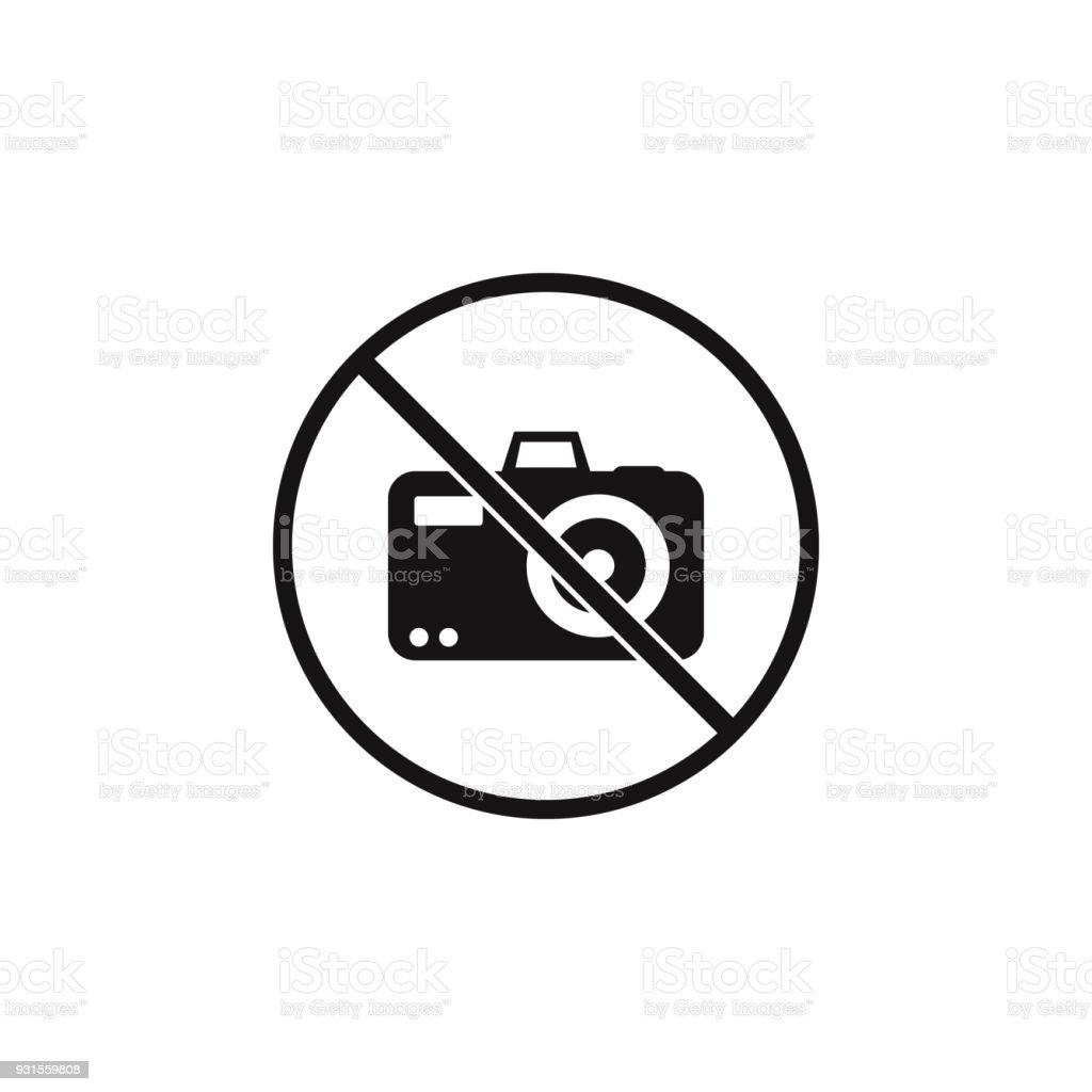 No sign allowed to take pictures icon element of danger signs icon no sign allowed to take pictures icon element of danger signs icon premium quality biocorpaavc Gallery