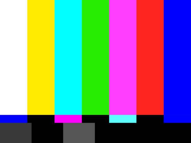 tv brak sygnału ilustracji tła. grafika przedstawiająca wektorową ilustrację eps10 - kolory stock illustrations